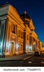 Palacio de Gobierno (Government Palace) at Parque Jose Marti square in Cienfuegos, Cuba