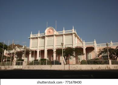 Palacio do Povo (People's Palace), or Palacio do Mindelo, (formerly the Palacio do Governador Governor's Palace), Mindelo, Cape Verde.