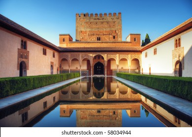 Palacio Nazaries, Alhambra, Granada, Spain