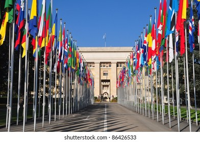 Palais des Nations United Nations in Geneva