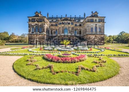 Palais Grosser Garten Grand Garden Palace Stock Photo Edit Now