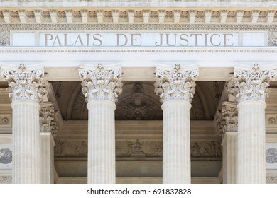 Palais of justice in France