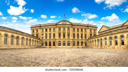 Palais Rohan, City hall in Bordeaux, France in a beautiful summer day