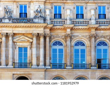 Palais Royal or Palais Cardinal was personal residence of Cardinal Richelieu in Paris. Located opposite the north wing of the Louvre