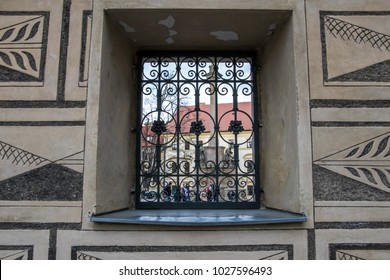 Palais Schwarzenberg with sgraffito decoration in Prague