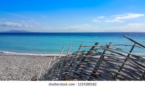Palamutbuku, Turkey. Palamutbuku has populer beach in Datca.