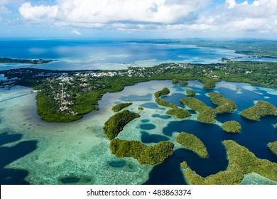Palau Koror skyline