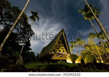 Palau traditional meeting House