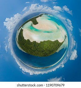 Palau tropical islands