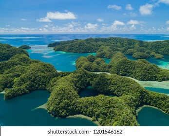 Palau's Rock Islands and Marine Lake