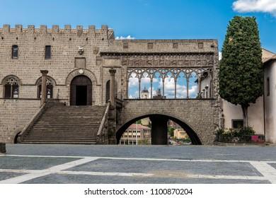 Palazzo dei Papi in Viterbo, Italy