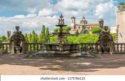 Palazzo dei Priori, in Viterbo, Lazio, central Italy.