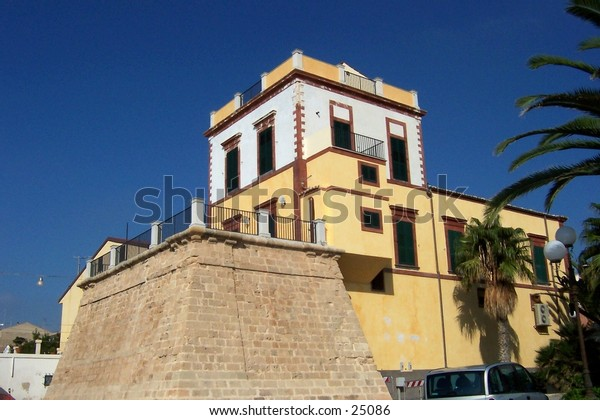 Palazzo della Dogana, Marina di Ragusa, Sicilia.