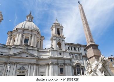 Palazzo Pamphili, Piazza Navona, Rome, Italy