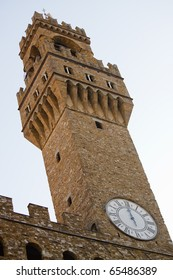Palazzo Vecchio of Florence in Italy