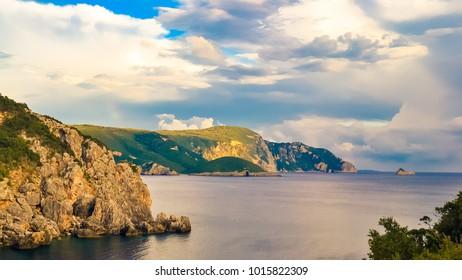 Paleokastritsa (Corfu, Greece)