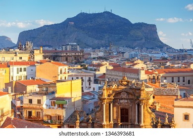 Palermo. Aerial view of the city.