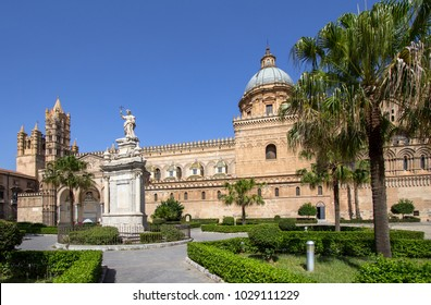 Palermo cathedral, Sicily island, Italy