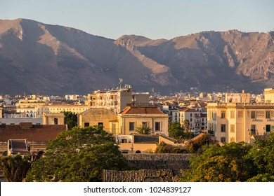 Palermo in the morning, Italy in a beautiful summer day