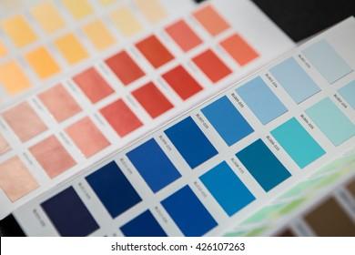 palette of colors