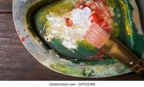 palette paint