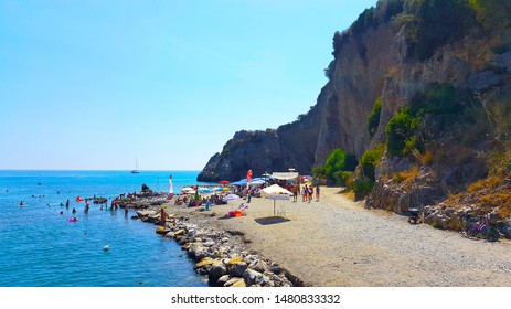 Palinuro Salerno Italy - Aug 2019 Natural Arch Bay