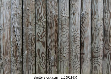 Palisade - fence from wooden stakes - wooden texture