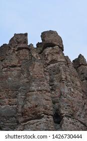 The Palisades -Rock Formation - Central Oregon