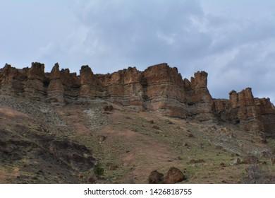 The Palisades - Rock Formation - Central Oregon
