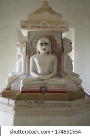 PALITANA, GUJARAT, INDIA - MARCH 2: A Jain shrine, Mount Satrunjaya on March 2, 2012 near Palitana, Gujarat, India. Sacred to Jains, Jainism is one of the worlds oldest religions with 4.2mil followers