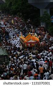 Palkhi (Dindi) Festival, Pune, Maharshtra, India - 06 July 2018