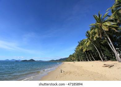 Palm Cove beach in Cairns, Australia
