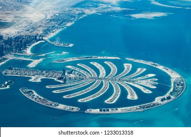 Palm Dubai from the air
