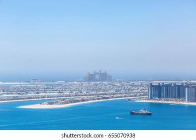 Palm panoramic sea view
