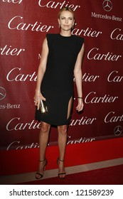 PALM SPRINGS, CA - JAN 7: Charlize Theron at the 23rd Annual Palm Springs International Film Festival Awards Gala at the Palm Springs Convention Center on January 7, 2012 in Palm Springs, California