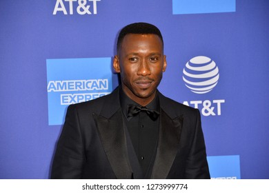 PALM SPRINGS, CA. January 03, 2019: Mahershala Ali at the 2019 Palm Springs International Film Festival Awards.