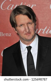 PALM SPRINGS, CA - JANUARY 5, 2013: Director Tom Hooper at the Awards Gala for the 2013 Palm Springs International Film Festival.