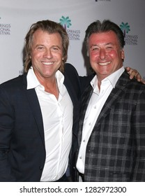 "PALM SPRINGS - JAN 11:  Vincent Van Patten, James Fitzpatrick at the ""Walk to Vegas"" World Premiere at the Richards Center for the Arts on January 11, 2019 in Palm Springs, CA"