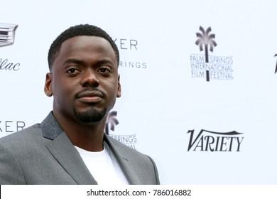 "PALM SPRINGS - JAN 3:  Daniel Kaluuya at the PSIFF Creative Impact Awards & ""10 Directors to Watch"" at Parker Palm Springs on January 3, 2018 in Palm Springs, CA"