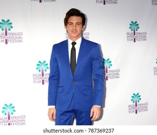 "PALM SPRINGS - JAN 3:  Drake Bell at the PSIFF ""Cover Versions"" Screening at Camelot Theater on January 3, 2018 in Palm Springs, CA"