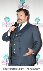"""PALM SPRINGS - JAN 3:  Jack Black at the PSIFF """"The Polka King"""" Screening at Camelot Theater on January 3, 2018 in Palm Springs, CA"""