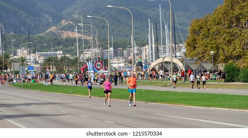 Palma de Mallorca, Spain, October 14, 2018.