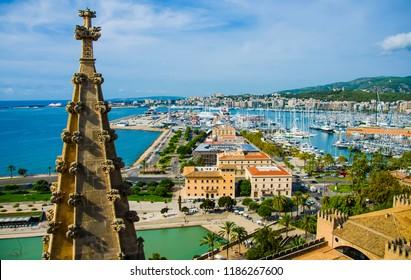 The Palma Port, Majorca, Spain.