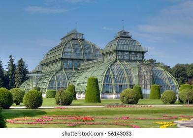 """The """"Palmenhaus"""" at palace Schoenbrunn Vienna Austria"""