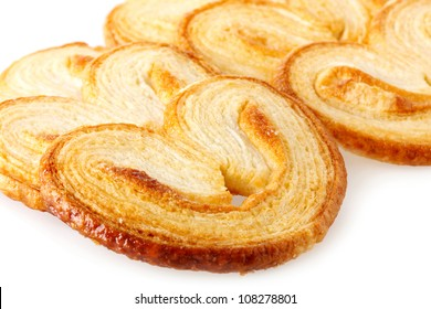 Palmiers (elephant ear), puff pastry cookie