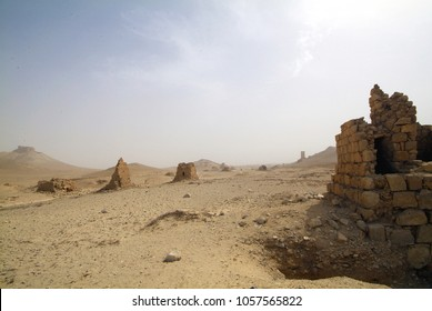 Palmyra, Syria, the pearl of the ancient architecture which. queen Zenobia