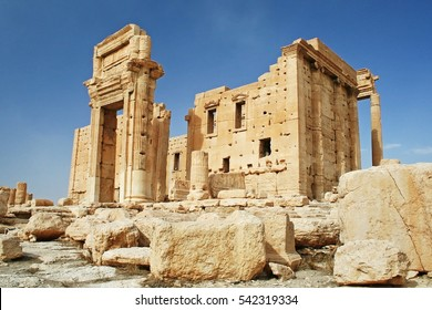 Palmyra - Syria, Ruins of the ancient city of Palmyra, The Temple of Bel