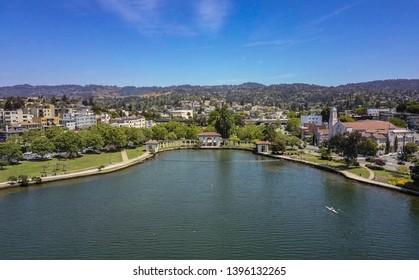 Palo Alto, CA - 05 10 19:: Lake Merritt Arial View