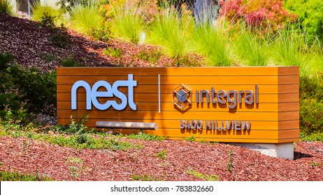 Palo Alto, CA - Aug. 20, 2017: Nest Labs. Nest Labs produces various programmable, sensor-driven, Wi-Fi-enabled thermostats, monitoring and security systems.