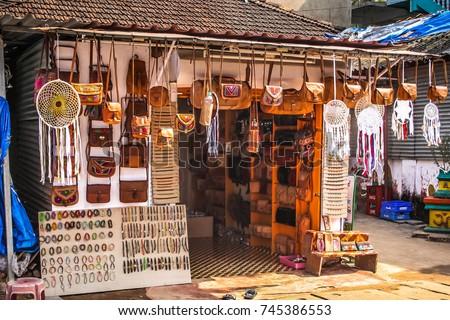 77cadc464c4b PALOLEM INDIA 2810 Clothes Souvenir Shop Stock Photo (Edit Now ...